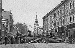 Moscow insurrection, December 1905