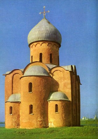 A pre-Mongolian church near Novgorod