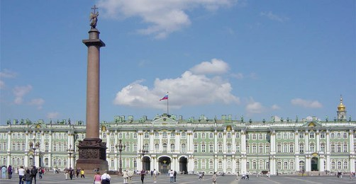 The Winter Palace, home of the Hermitage Museum, St. Petersburg