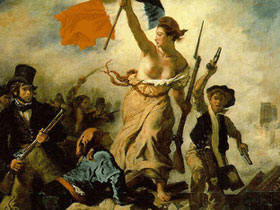 Liberty Leading the People (28 July 1830). By E. Delacroix