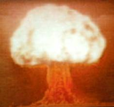 1953 test of the Soviet hydrogen bomb