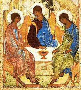 "Andrei Rublev's ""Holy Trinity"""
