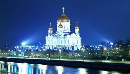 Cathedral of Christ the Savior in Moscow. Photo: Oleg Mosienko